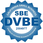Certified SBE Disabled Veteran Business Logo